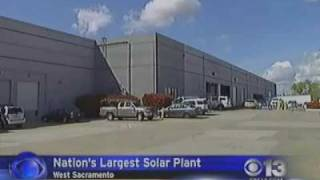 CBS Chanel 13-The largest solar farm in the US to be build in West Sacrament
