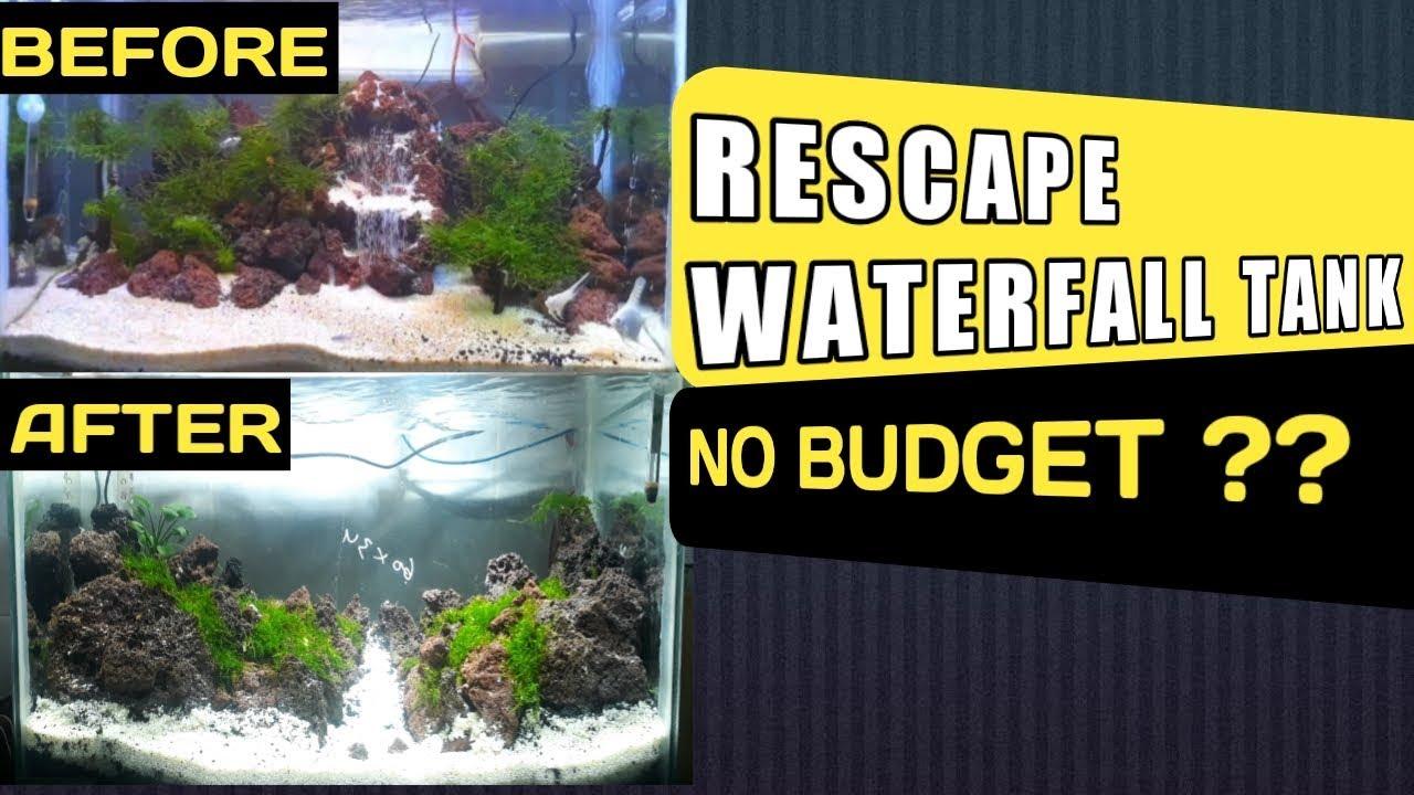 Cara Setting Ulang Aquascape Rescape Youtube