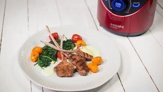 Sos de iaurt si menta pentru cotlete de berbecut, la Vacuum Blender Ozen HB300RE
