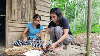 Gadis Suku Dayak    Panen Buah Santol, Masak Kolak Di Pondok Sawah