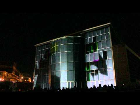 3D Projection - Bournemouth IMAX Waterfront Building Virtual Demolition