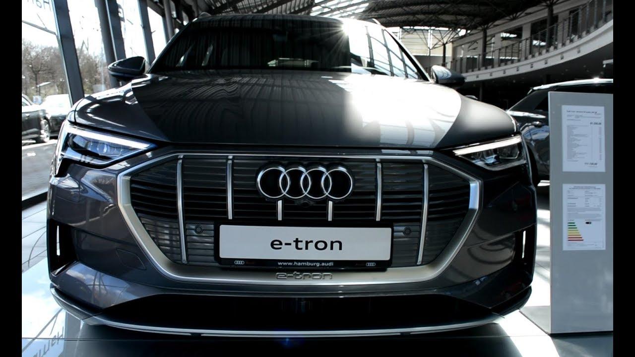 2019 New Audi E Tron Exterior And Interior Youtube