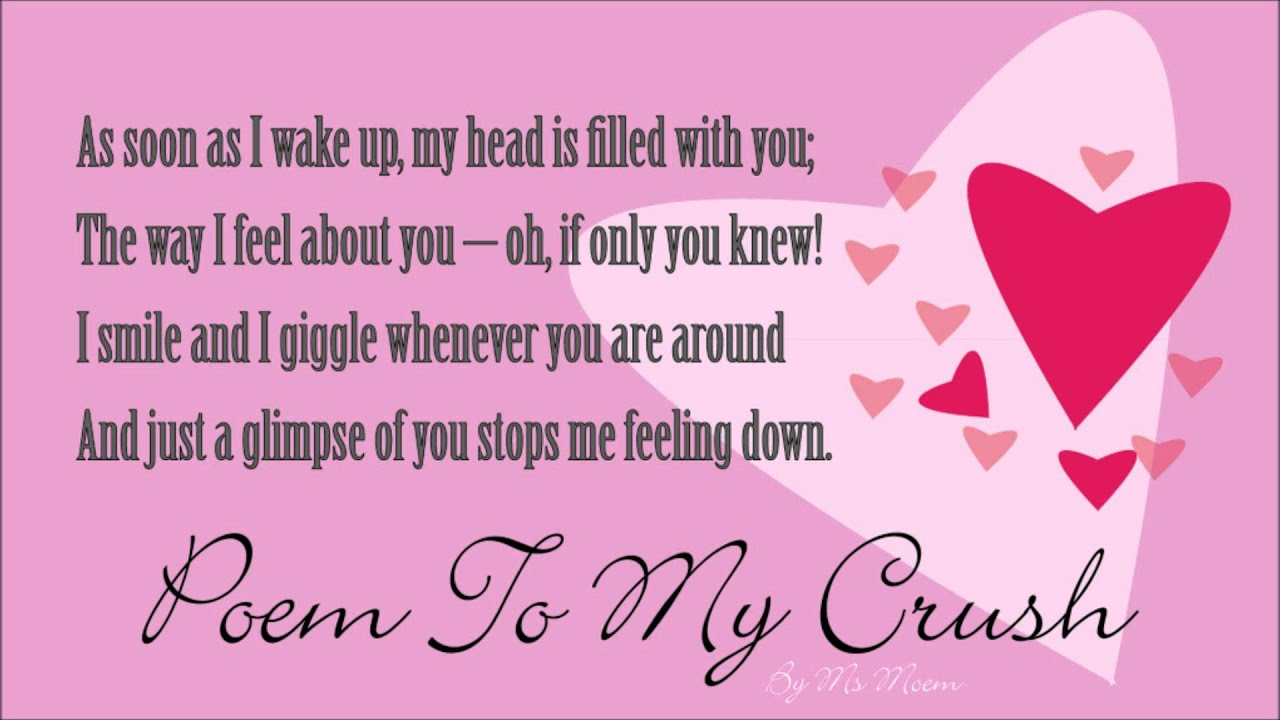 Crush Poems For Her 3