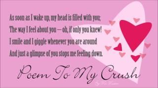 Secret crush poems