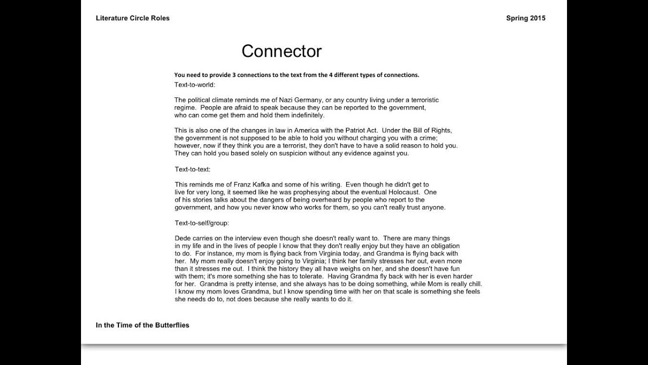 Worksheets  Workbooks » Literature Circles Roles Worksheets - Free Printa