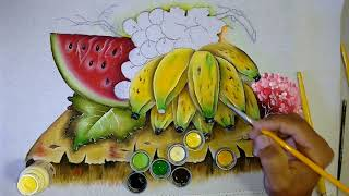 Aprenda a Pintar Bananas