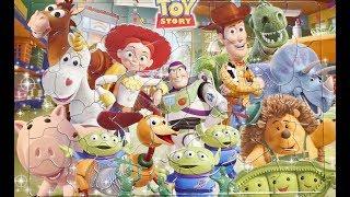 Toy Story Puzzle game トイストーリー  知育パズル 子供向け
