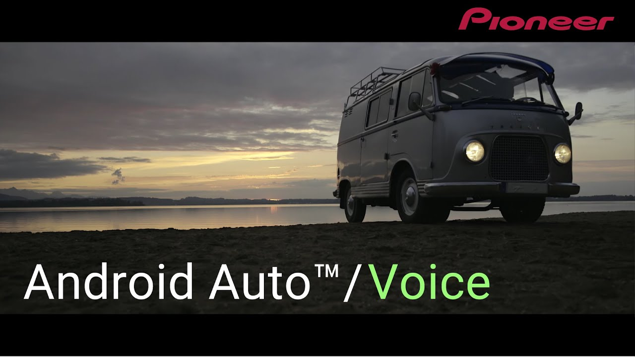 Android Auto™ | Search | Voice | Google Maps™ | Pioneer Smarter Driving  Life+