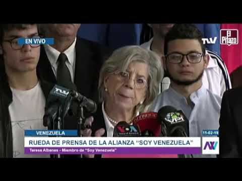 Soy Venezuela exige la apertura del canal humanitario.