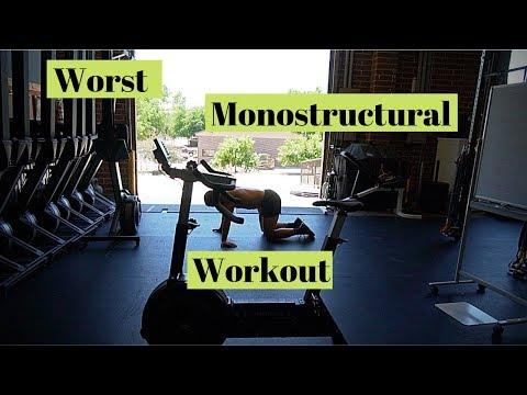 Worst Monostructural Workout? Crossfit Games Prep!