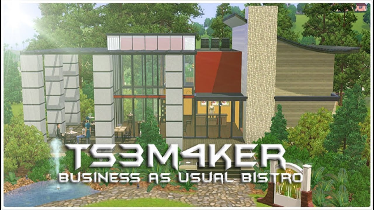 Little business lots | simple minded sims.