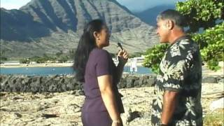 The history of Pokai Bay, Hawaii is told by William Aila in an interview with Karen Awana