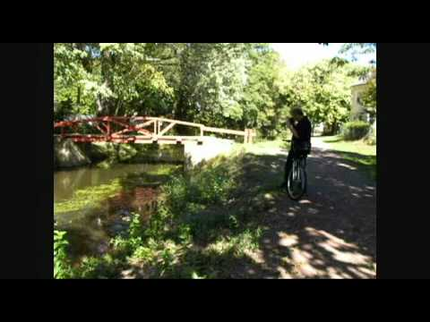 Delaware Canal Towpath Yardley To Bristol PA Part 1 of 2