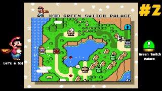Super Mario World - SNES - Walkthrough - Part 2 - The Cape Feather