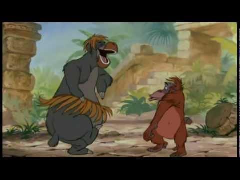 Das Dschungelbuch - King Louie - Ich wär so gern wie du   HQ