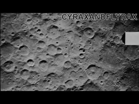 Alien structures on dark side of the moon