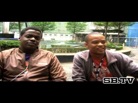 SB.TV - Jason Lewis & Daniel Kaluuya interview @ B...