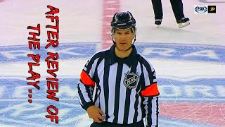 NHL Funny Referee Moments