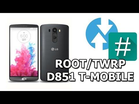 Como Instalar ROOT/TWRP EN LG G3 D851 6.0.1  T-MOBILE  ESPAÑOL 2018
