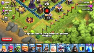 Get 3 starrrrr on anyone CLASH OF CLANS BY X MOD