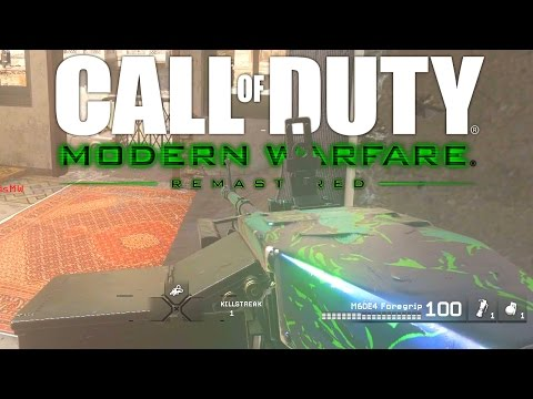 M60E4 on Remastered CROSSFIRE! (Modern Warfare Remastered)
