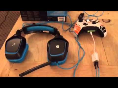 Turtle Beach Headphone Wiring Diagram Logitech G430 Headset Set Up For Xbox One Youtube