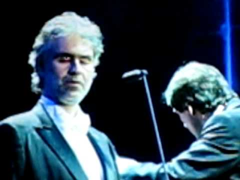 Andrea Bocelli Concert in Moscow 20.06.07.