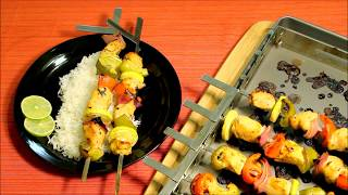 How to make Easy Chicken Kabobs