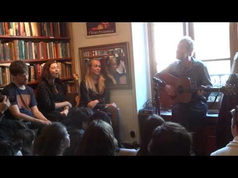 Glen Hansard - The Auld Triangle Live @ Shakespeare and Company Bookstore Paris