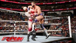 Zack Ryder vs. Sheamus: Raw, June 13, 2016