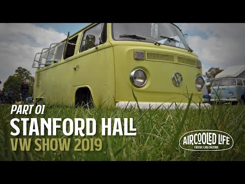 Aircooled Life at Stanford Hall VW Show 2019 - Part 01