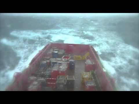 Rough Weather in the North Sea
