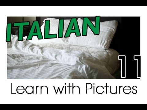 Learn Italian - Italian Room Vocabulary