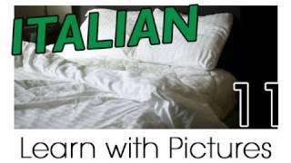 Learn Italian - Italian Room Vocabulary