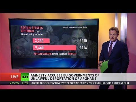 Amnesty Intl slams EU governments for returning asylum seekers