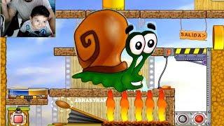 Jugando Con Bob El Caracol Juego Para Niños Bob El Caracol Youtube