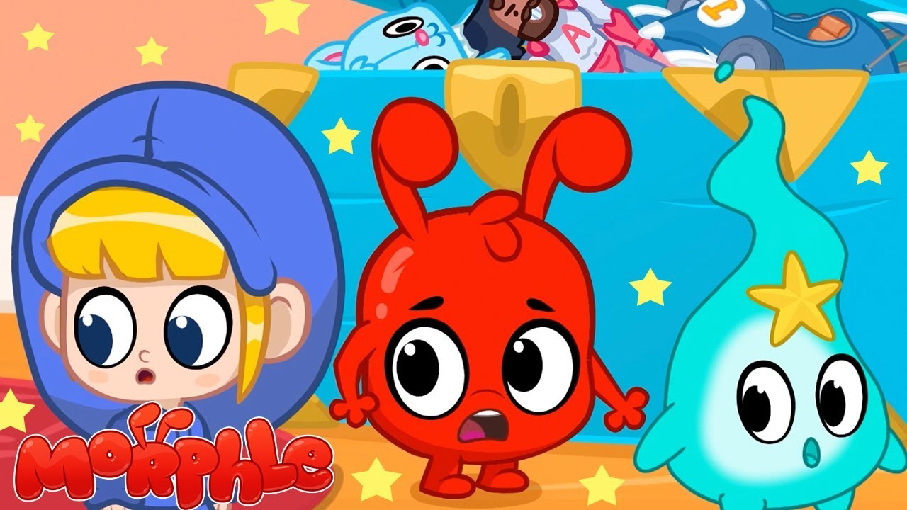 LIVING TOYS! - My Magic Pet Morphle | Cartoons For Kids | ABCs and 123s