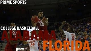 Alabama @ Florida (2016 Alabama Basketball Highlights) (Prime Sports)