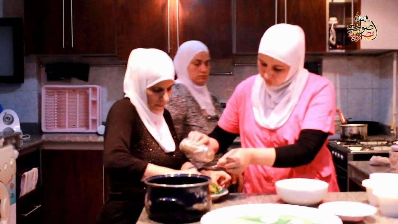 مأكولات ست الشام تجربة للاجئات السوريات لتعليم فنون المطبخ الشامي للمصريات Youtube