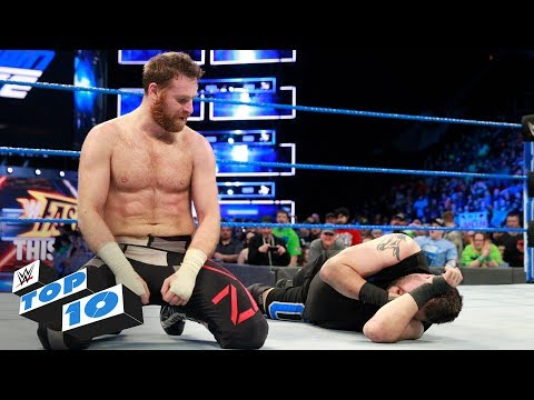 Top 10 SmackDown  moments: WWE Top 10, March 6, 2018