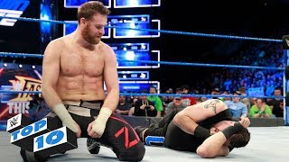 Top 10 SmackDown LIVE moments: WWE Top 10, March 6, 2018