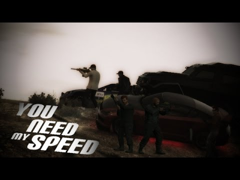 GRAND THEFT AUTO FIVE FILM - YOU NEED MY SPEED [Deutsch] GTA V Movie German