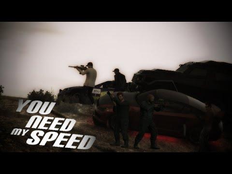 GRAND THEFT AUTO FIVE FILM - YOU NEED MY SPEED [Deutsch] GTA V Movie German