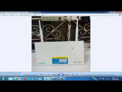 Personalizar nuestro Modem Arcadyan Modelo VRV9519KWAC23