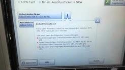 EinfachWeiterTicket am DB Fahrkartenautomat kaufen