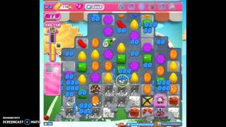 Candy Crush Level 1444 help w/audio tips, hints, tricks