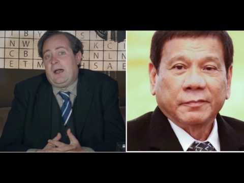 London's political expert explains why Duterte is the best President of the Philippines ever had