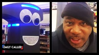 Man Accuses Grocery Store Robot of Racial Profiling