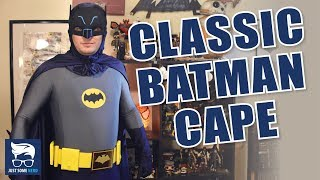 How to Make a Classic Adam West Batman Cape