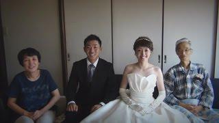 お父様に結婚式に参列してもらいたい。 お父様に花嫁姿を見てもらうこと...